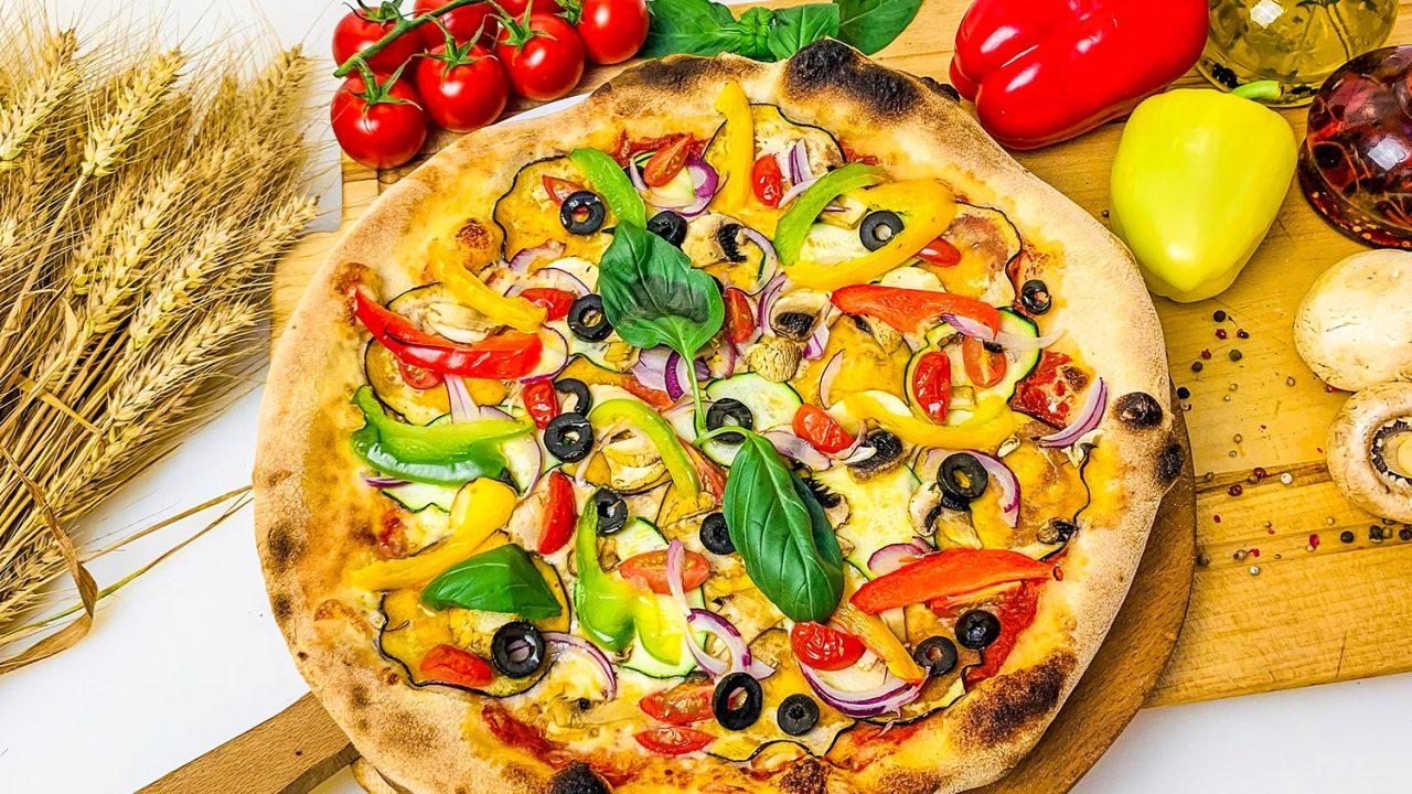 pizza vegan vegetariana